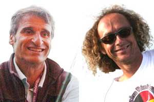 Gérard IMBURCHIA et Oscar BENOIT